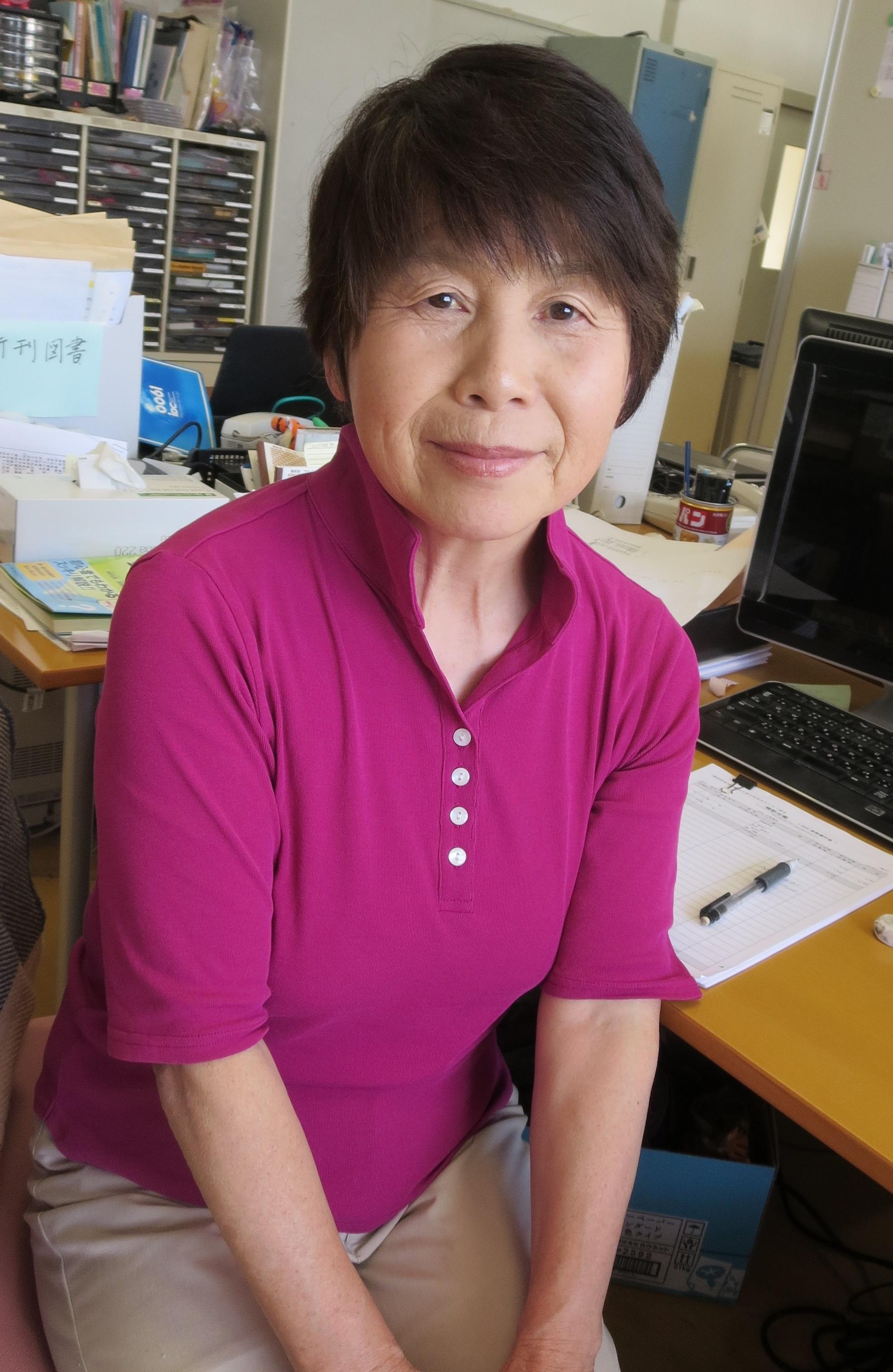 伊藤 順子(いとう じゅんこ) 事務局スタッフ