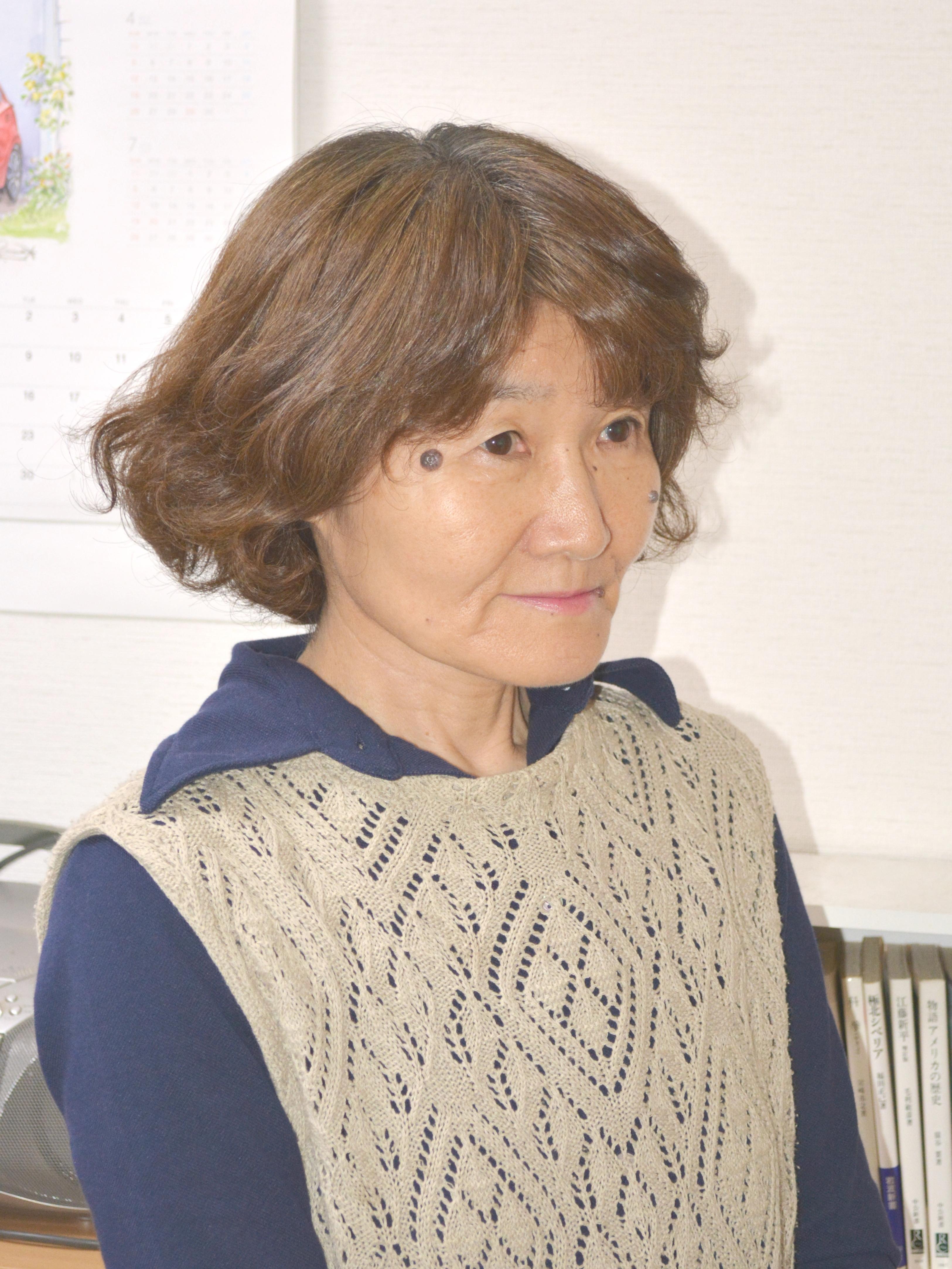 枦木 典子(はぜき のりこ) 代表理事
